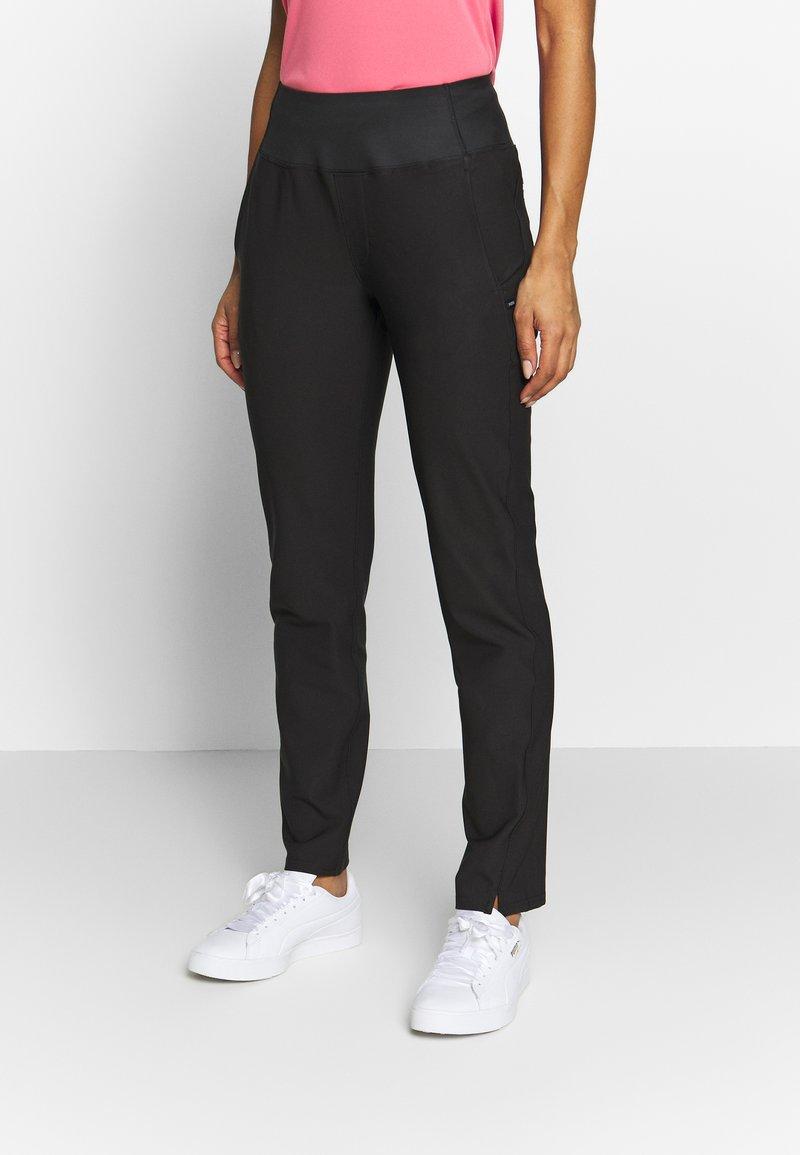 Puma Golf - PWRSHAPE PANT - Spodnie materiałowe - black