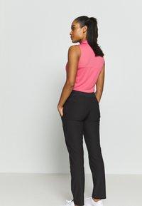 Puma Golf - PWRSHAPE PANT - Spodnie materiałowe - black - 2