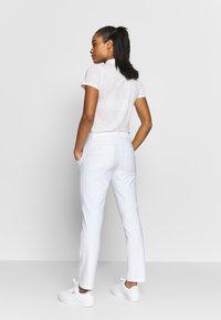 Puma Golf - GOLF PANT - Kalhoty - bright white - 2