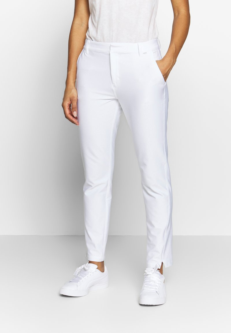 Puma Golf - GOLF PANT - Bukse - bright white