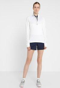 Puma Golf - ROTATION ZIP - Sports shirt - bright white - 1
