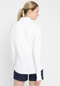 Puma Golf - ROTATION ZIP - Sports shirt - bright white - 2
