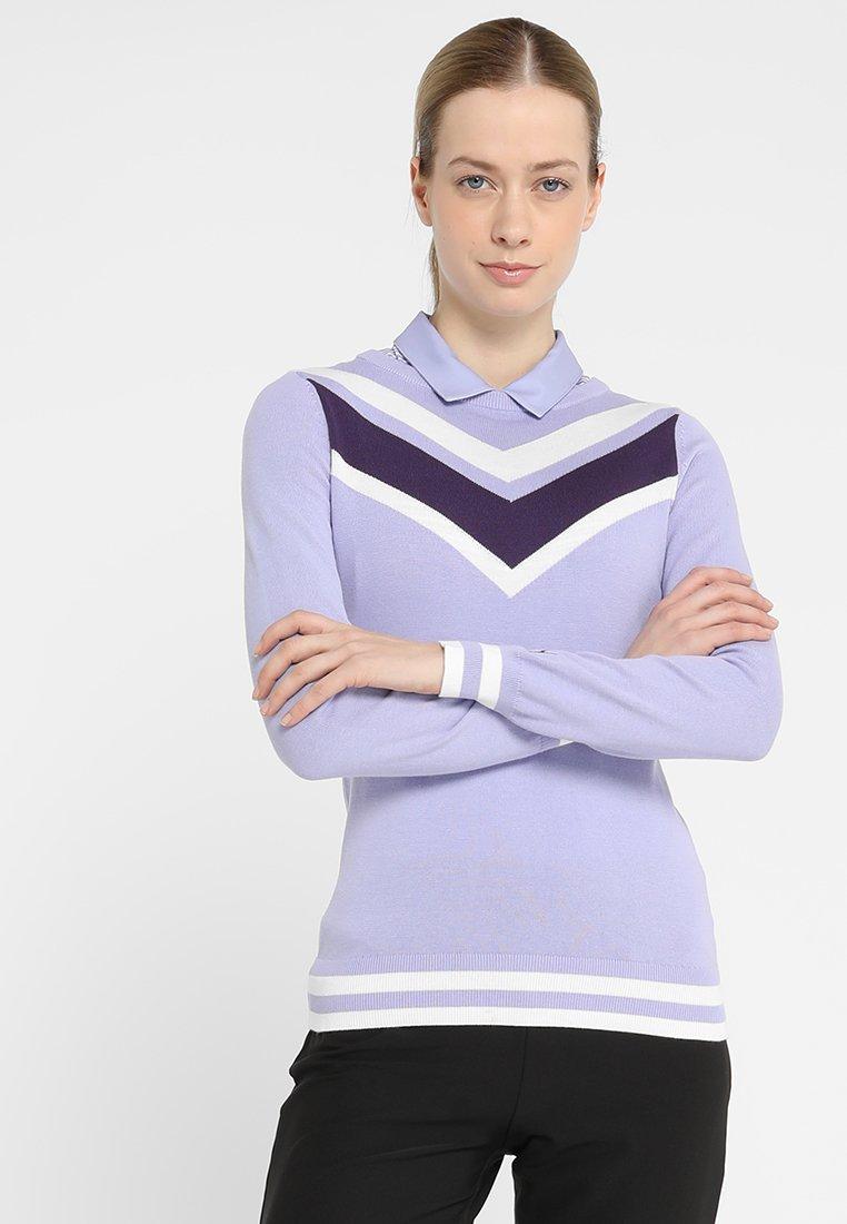 Puma Golf - CHEVRON - Jumper - sweet lavender