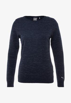 CREWNECK SWEATER - T-shirt à manches longues - peacoat heather
