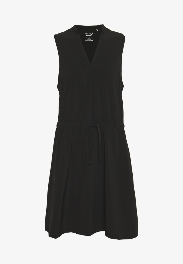NEWPORT DRESS - Jurken - black