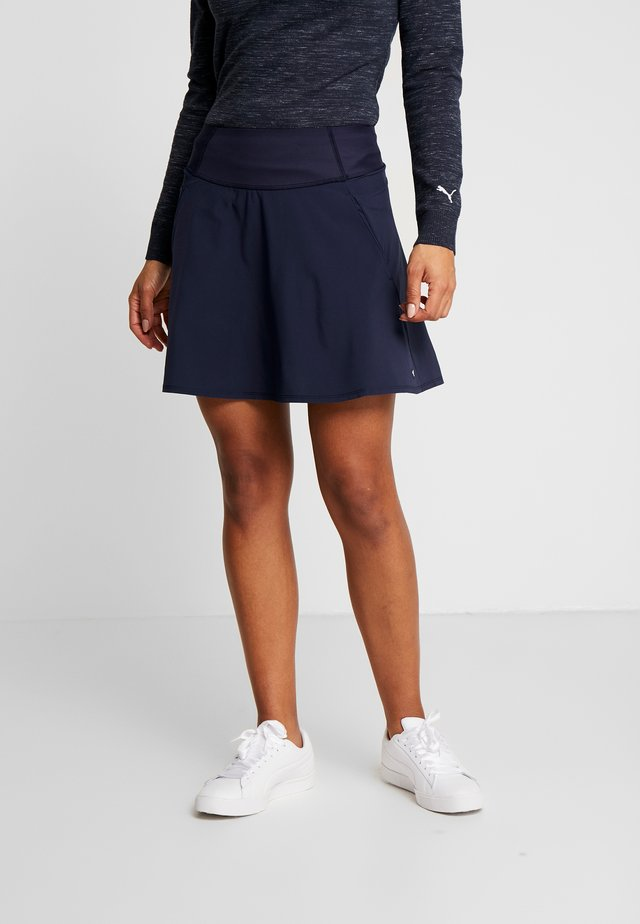 PWRSHAPE SOLID SKIRT - Sports skirt - peacoat