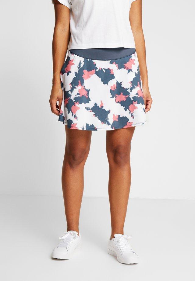 PWRSHAPE FLORAL SKIRT - Sports skirt - dark denim