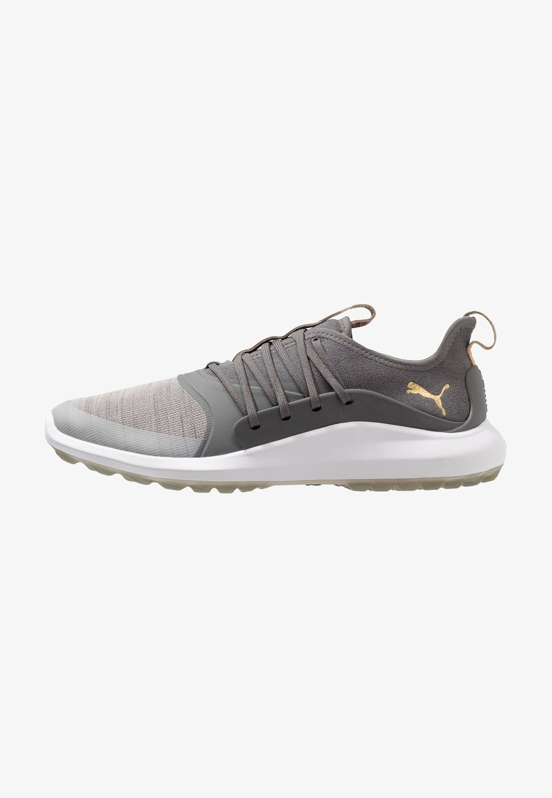 Puma Golf - IGNITE NXT SOLELACE - Scarpe da golf - gray violet/team gold/quiet shade