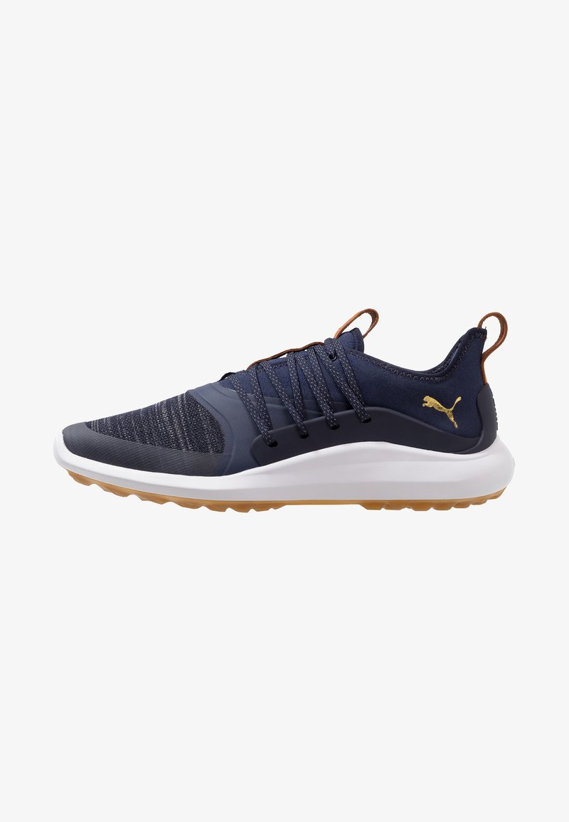 Puma Golf - IGNITE NXT SOLELACE - Golfsko - peacoat/team gold