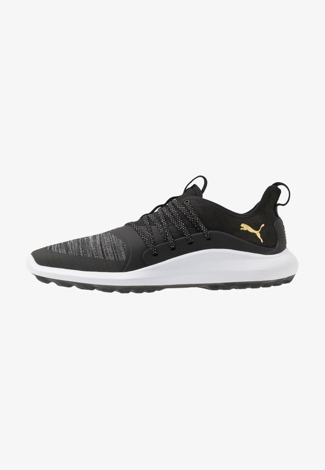 IGNITE NXT SOLELACE - Golfschoenen - black/team gold