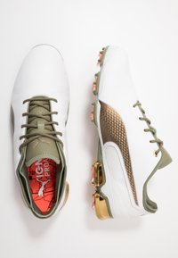 Puma Golf - IGNITE PROADAPT G LUX - Golfsko - white/gold - 1