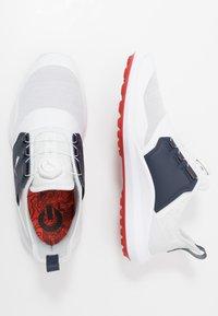 Puma Golf - IGNITE DISC - Golfové boty - white/silver/peacoat - 1