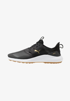 IGNITE NXT CRAFTED - Golf shoes - black/team gold