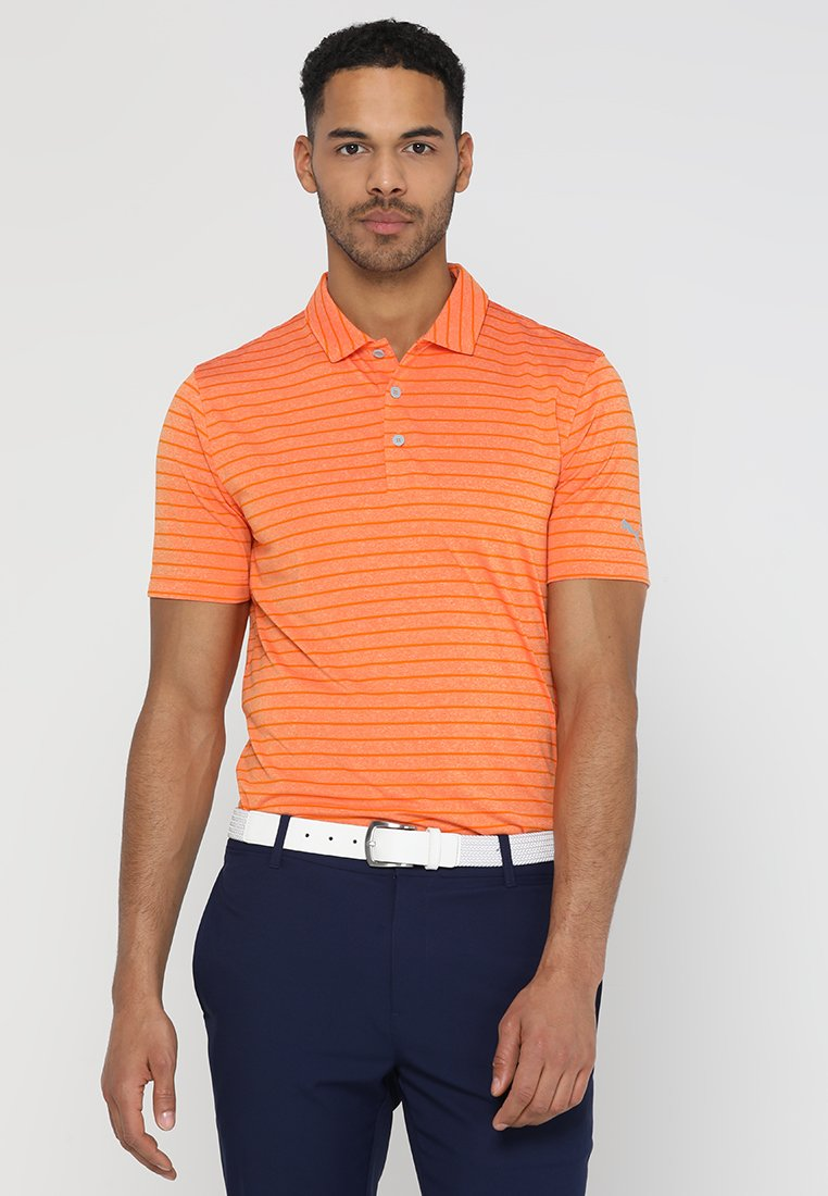 Puma Golf - ROTATION  - Sports shirt - vibrant orange