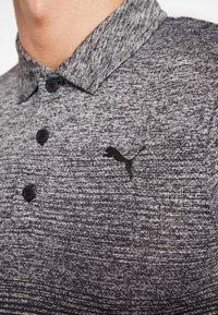 Puma Golf - EVOKNIT OMBRE - Funkční triko - puma black - 4