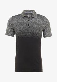 Puma Golf - EVOKNIT OMBRE - Funkční triko - puma black - 3