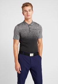 Puma Golf - EVOKNIT OMBRE - Funkční triko - puma black - 0