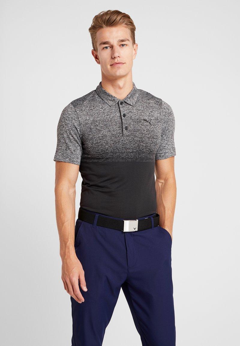 Puma Golf - EVOKNIT OMBRE - Sports shirt - puma black