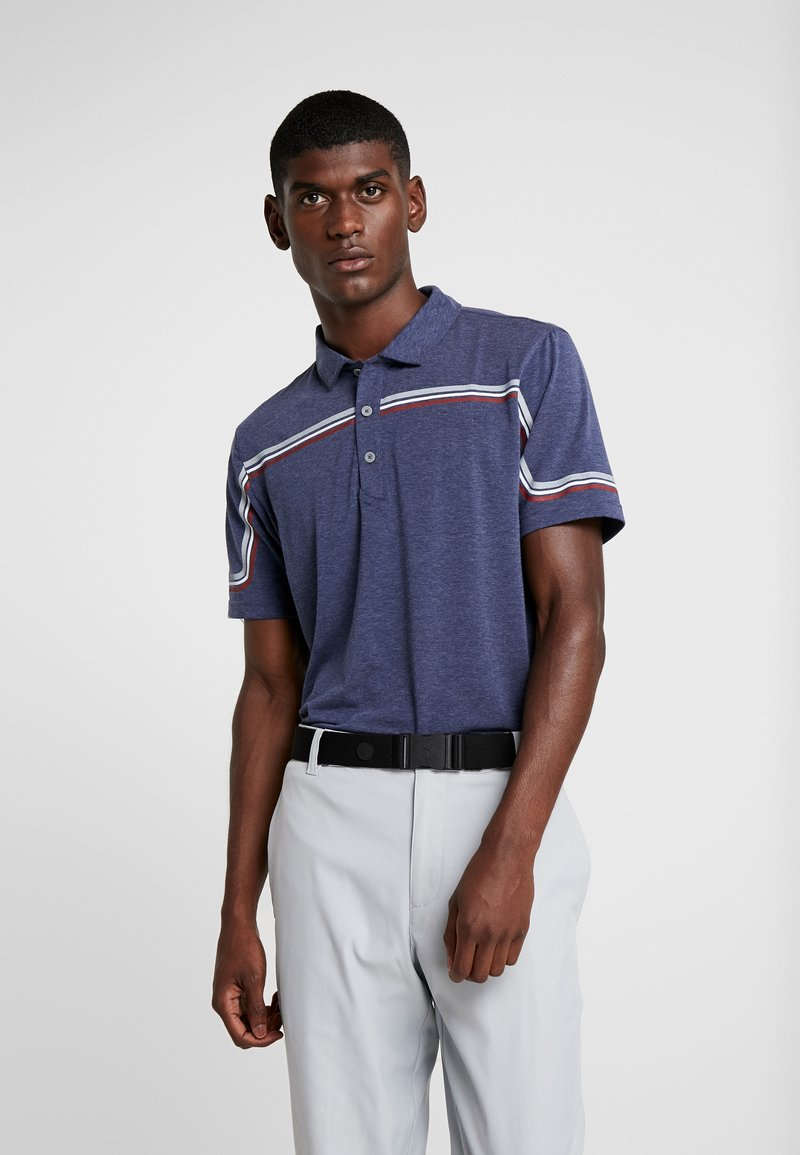 Puma Golf - LOOPING  - Funktionsshirt - peacoat heather