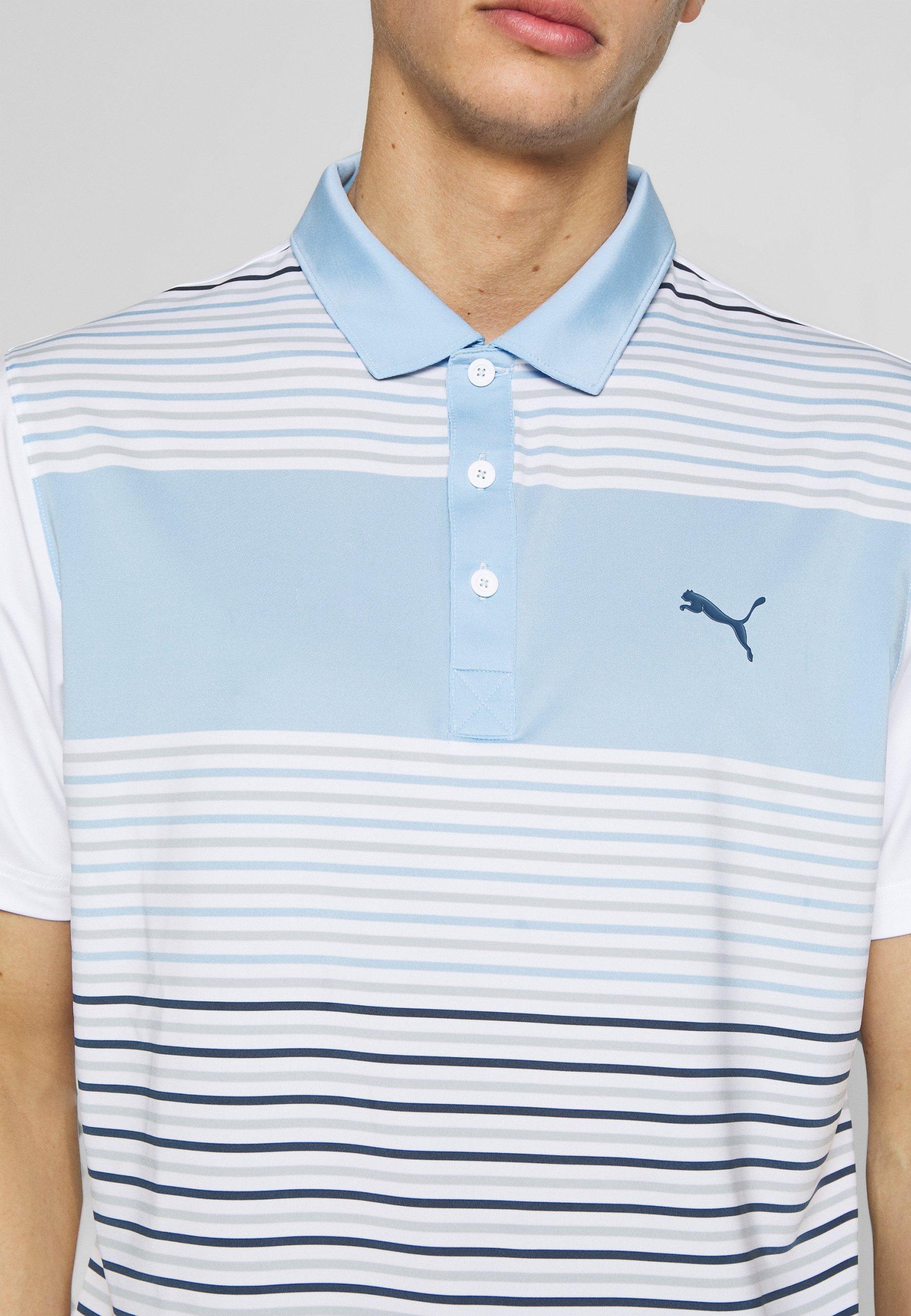 Puma Golf FLOODLIGHT - Polo - blue bell