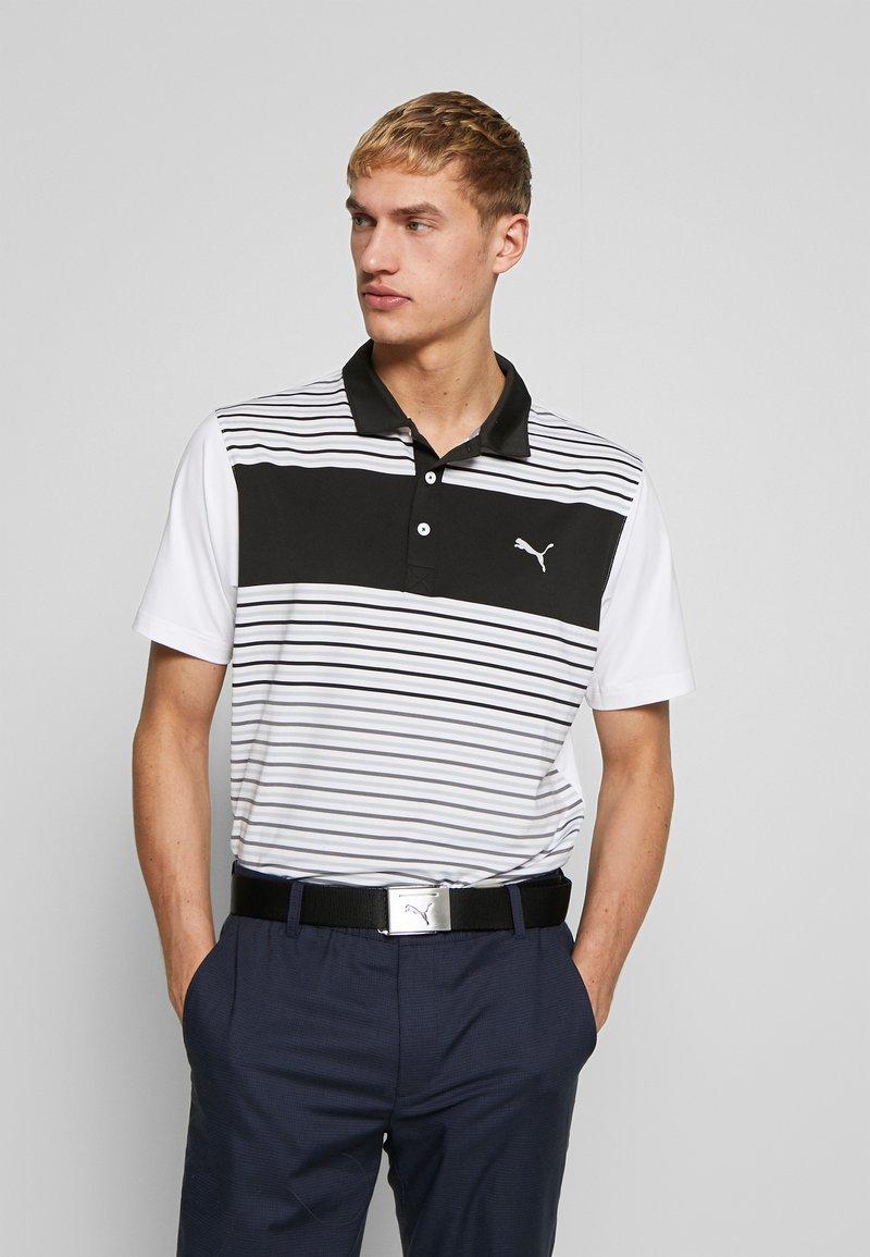Puma Golf - FLOODLIGHT  - Polo - puma black