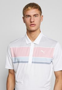 Puma Golf - ROAD MAP - Polo - rapture rose/blue bell - 3