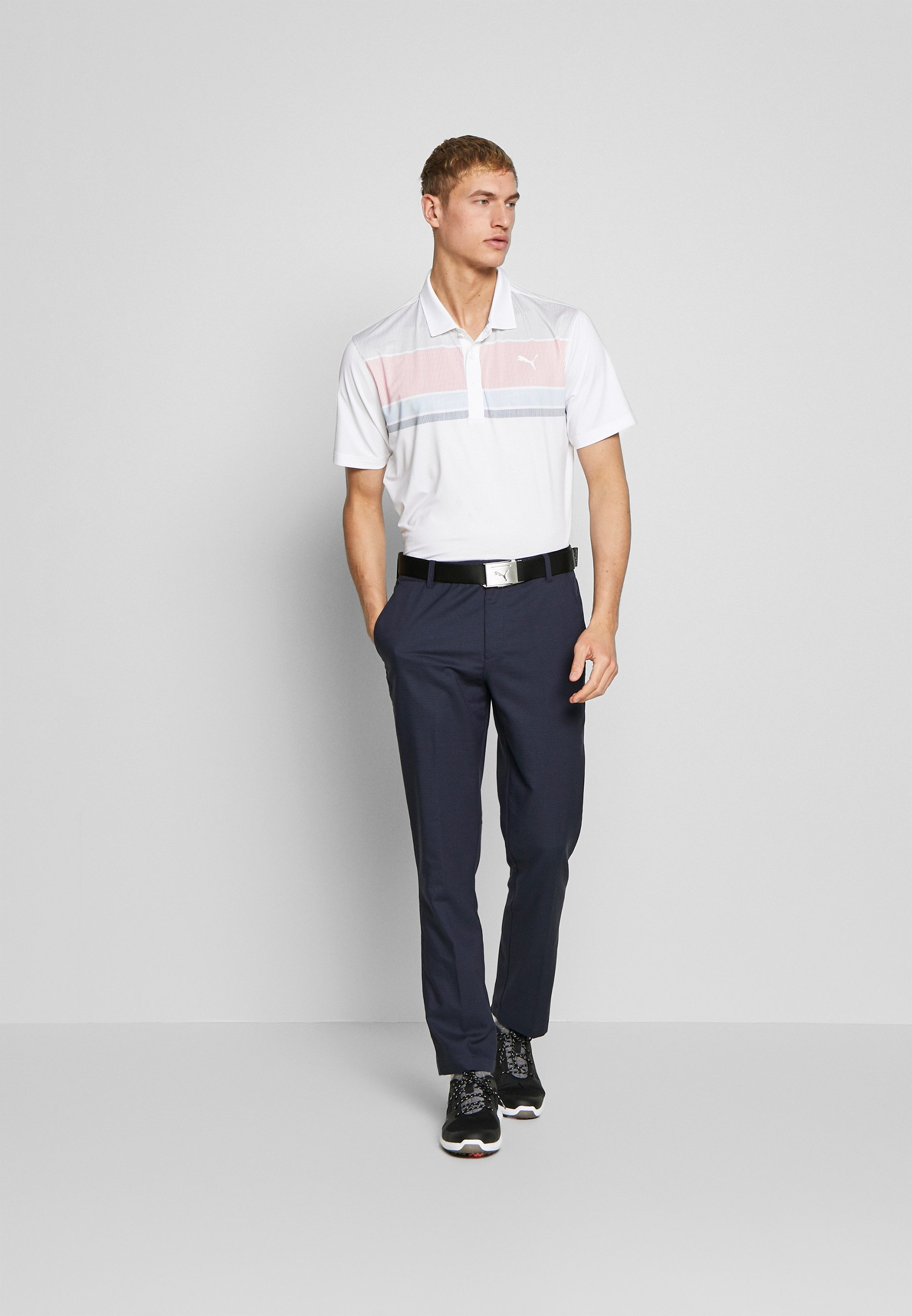 Puma Golf ROAD MAP - Polo - rapture rose/blue bell