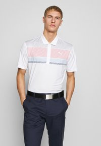 Puma Golf - ROAD MAP - Polo - rapture rose/blue bell - 0