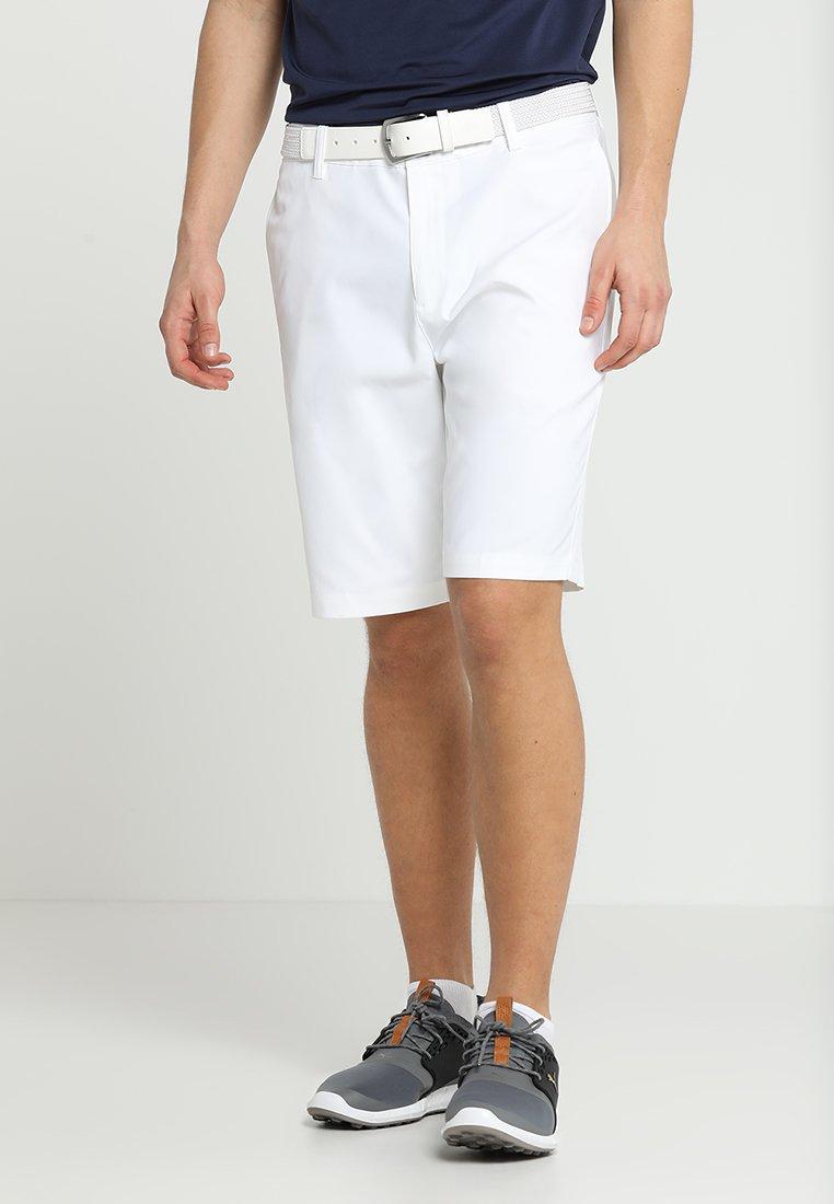 Puma Golf - JACKPOT - Korte sportsbukser - bright white