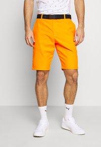 Puma Golf - JACKPOT - Korte sportsbukser - vibrant orange - 0