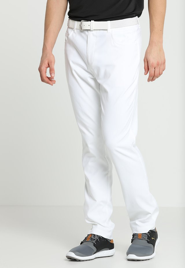 JACKPOT 5 POCKET PANT - Stoffhose - bright white