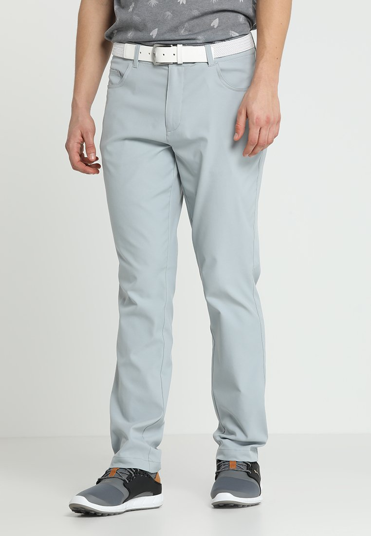 Puma Golf - JACKPOT 5 POCKET PANT - Tygbyxor - quarry