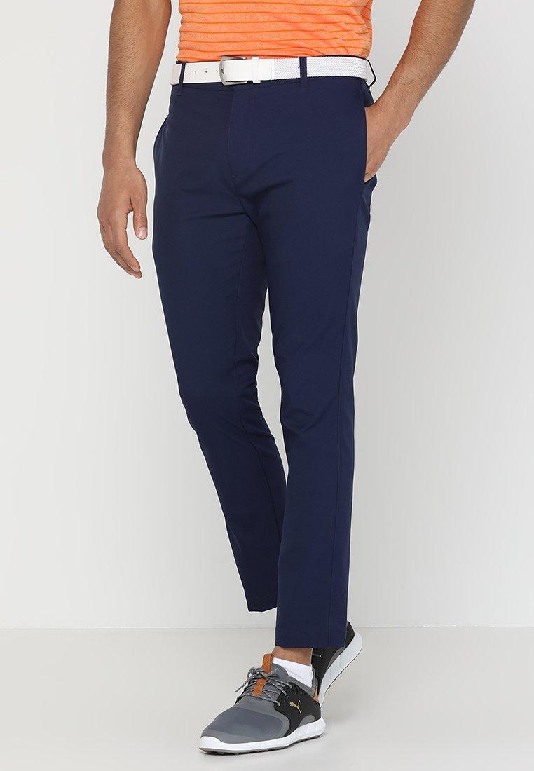 Puma Golf - TAILORED JACKPOT PANT - Pantalones - peacoat