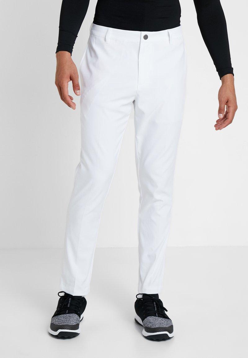 Puma Golf - TAILORED JACKPOT PANT - Trousers - bright white