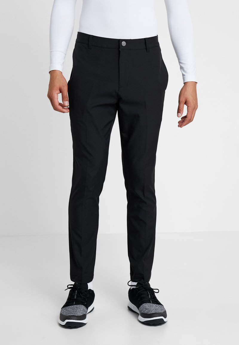 Puma Golf - TAILORED JACKPOT PANT - Bukse - black