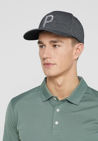 Puma Golf - SNAPBACK  - Kšiltovka - black heather - 1