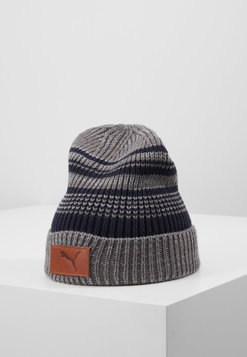 Puma Golf - HABIT BEANIE - Čepice - quarry