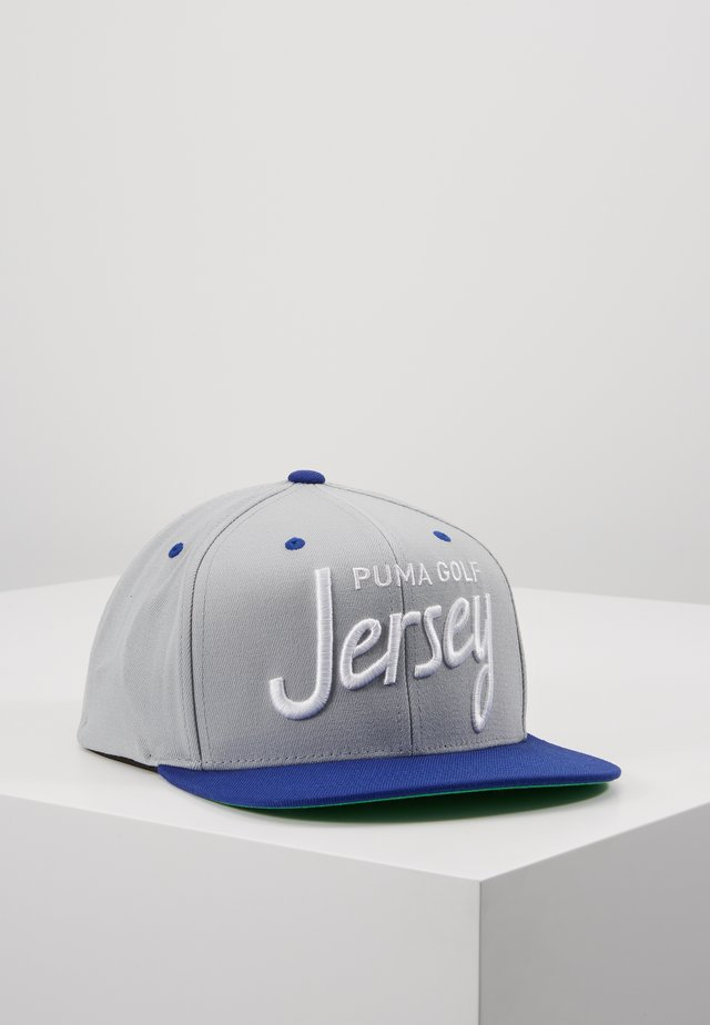 GOLF CITY  - Cap - grey/blue