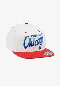 Puma Golf - GOLF CHICAGO CITY - Cap - white/red - 4