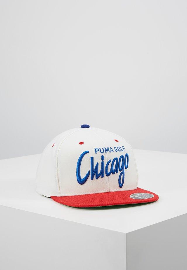GOLF CHICAGO CITY - Kšiltovka - white/red