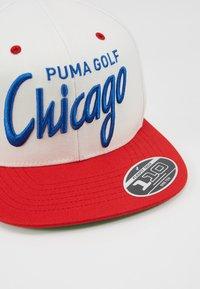 Puma Golf - GOLF CHICAGO CITY - Cap - white/red - 5