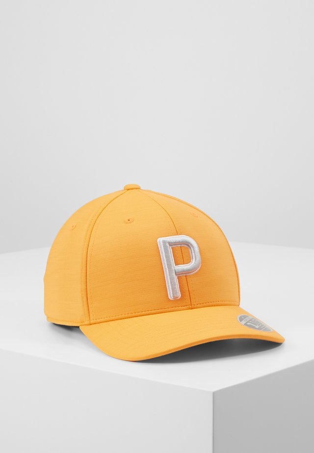Casquette - vibrant orange