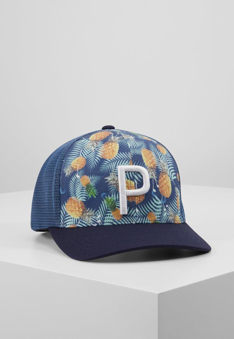 Puma Golf - TRUCKER PINEAPPLE - Cap - dark denim