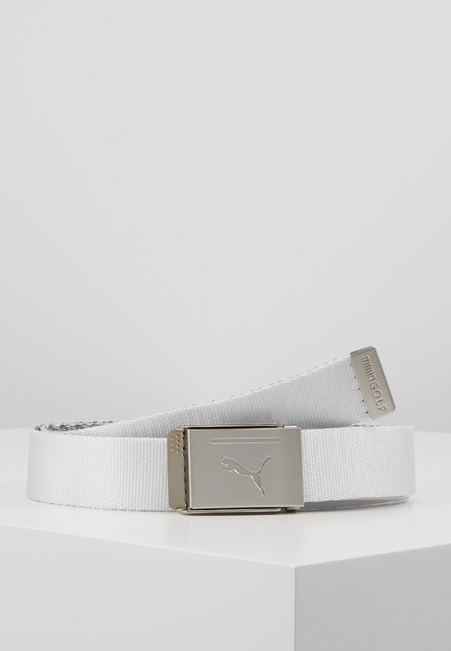 REVERSIBLE WEB BELT - Pásek - bright white