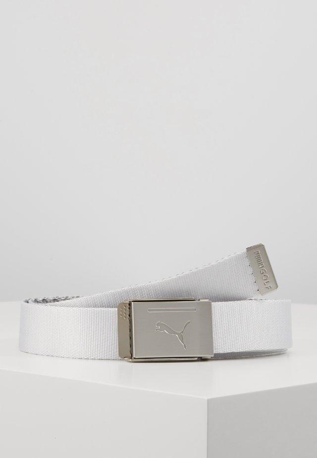 REVERSIBLE WEB BELT - Ceinture - bright white