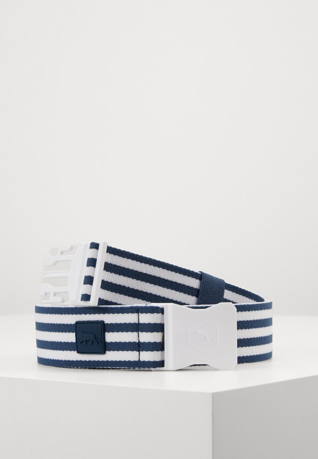 ULTRALITE STRETCH BELT PARS STRIPES - Vyö - dark denim