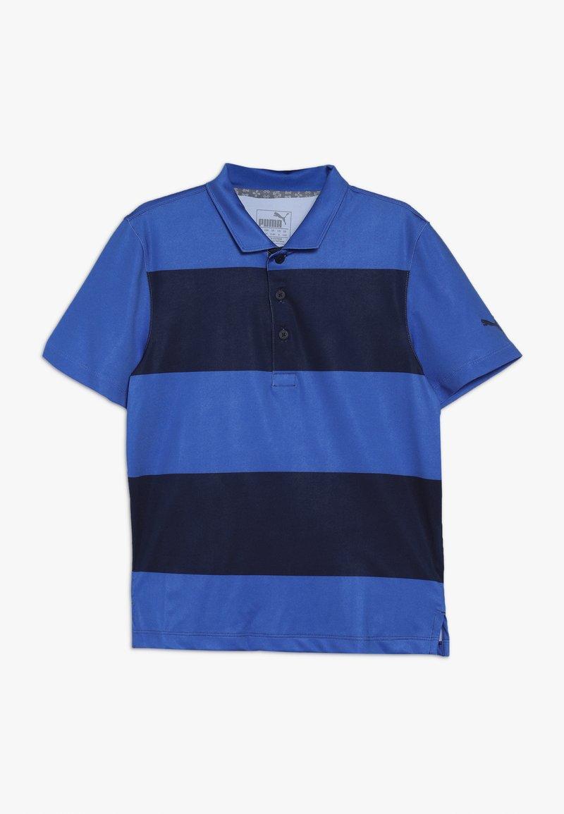 Puma Golf - BOYS RUGBY - Sports shirt - dazzling blue/peacoat