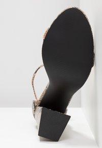 Public Desire - TESS - High heeled sandals - natural - 6