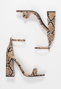 Public Desire - TESS - High heeled sandals - natural - 3
