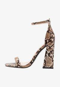 Public Desire - TESS - High heeled sandals - natural - 1